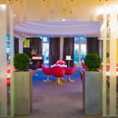 Le Jardin des Arceaux  - une autre vue du restaurant -   © le studio