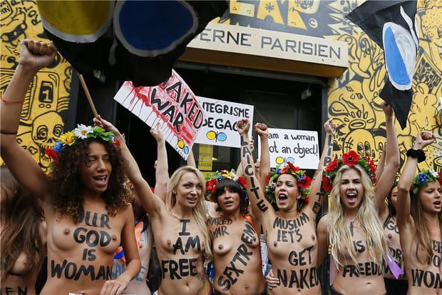 Les Femen à Paris