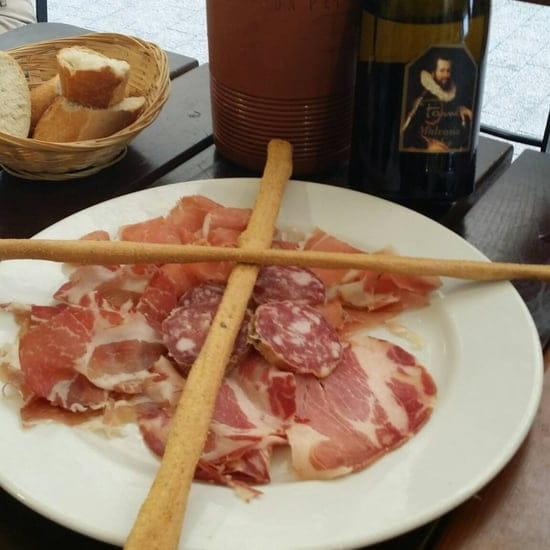 Entrée : Ragazzi da peppone  - Bon produit mais pour 3 ça fait un peu léger -