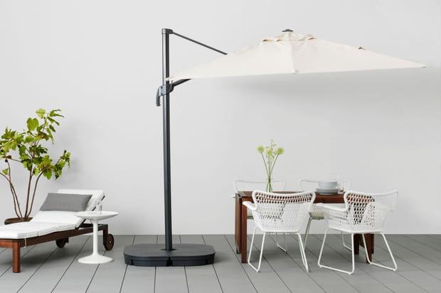 un parasol d port pour manger l 39 ombre. Black Bedroom Furniture Sets. Home Design Ideas