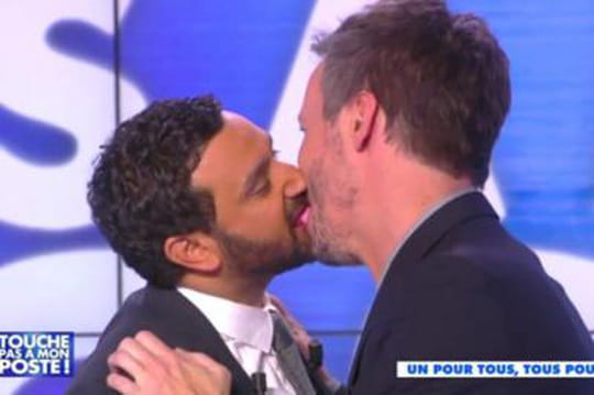 Énora embrasse Gilles Verdez dans Touche pas à mon poste! [VIDEO]