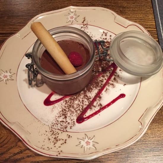 Dessert : La Tablée  - Mousse chocolat maison  -