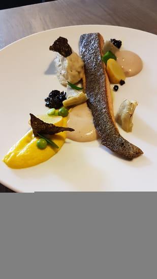 , Plat : Restaurant la Couleuvrine  - Filet de Truite -   © La Couleuvrine