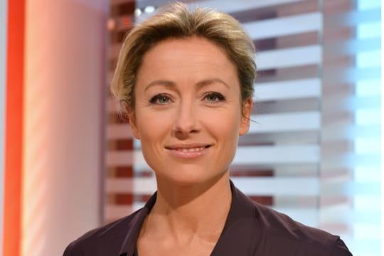 Anne-Sophie Lapix révèle qu'elle a subi du harcèlement sexuel