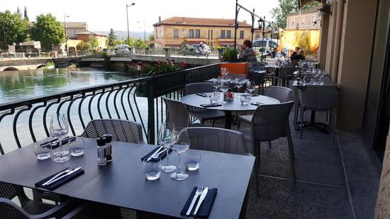 Restaurant : Les Terrasses by David et Louisa  - Terrasse -   © DR