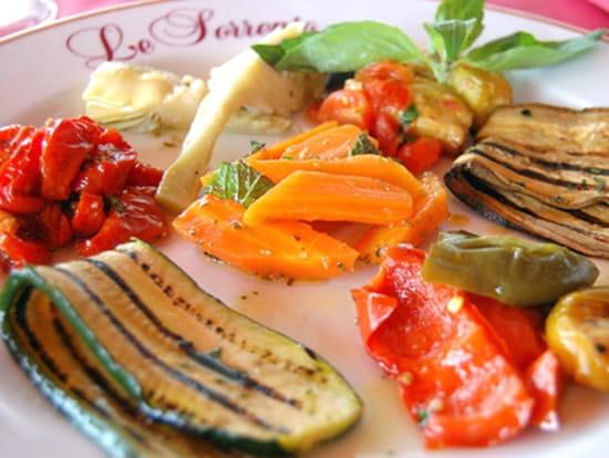 Le Sorrento  - farandole de légumes  -