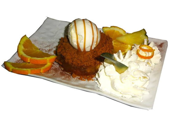 Dessert : LE TY SKORN  - Le Ty Skorn crêperie restaurant à Cancale / Tatin revisitée -   © Le Ty Skorn crêperie restaurant à Cancale