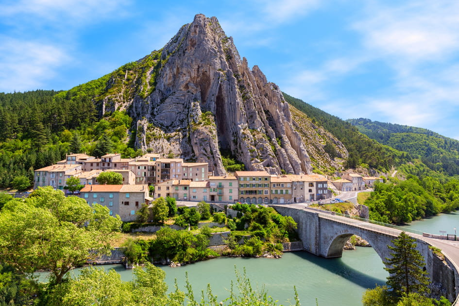 Sisteron, haut-lieu historique en Provence