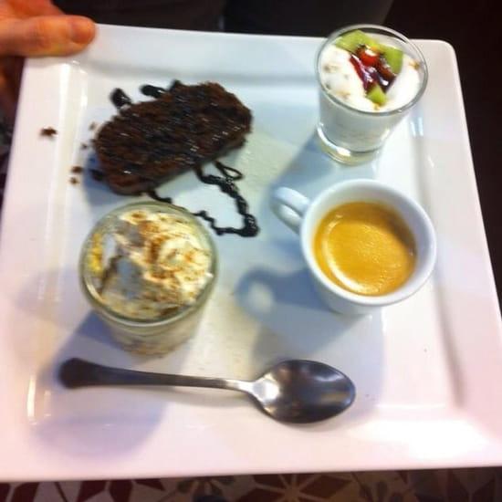 Dessert : Peperoncino  - Cafe gourmand -