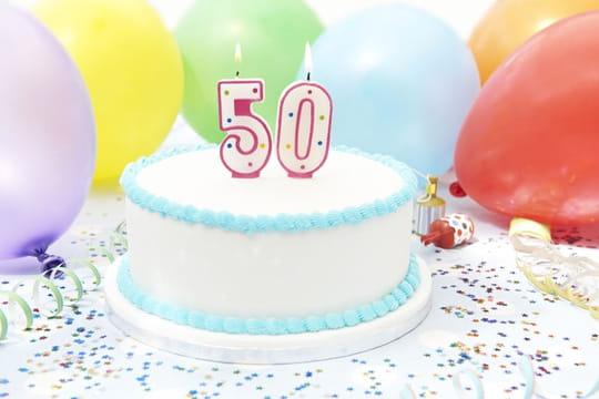 Texte d'anniversaire 50ans: modèles de textes pour les souhaiter