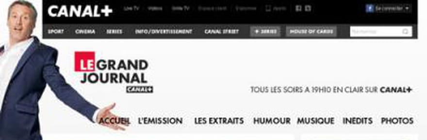Le Grand Journal: accusations de plagiat, Antoine deCaunes endifficulté