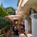 Restaurant : Ze Kitchen  - repas en terrasse -   © non