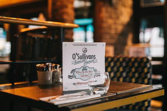 Restaurant : O'Sullivans  - Menu -   © La Clef