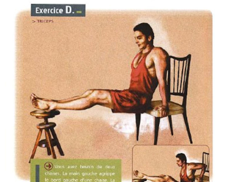 Méthode Lafay: des exercices de musculation sans matériel
