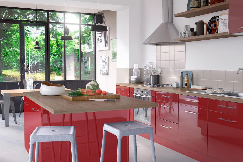 lot de cuisine gossip cooke lewis de castorama. Black Bedroom Furniture Sets. Home Design Ideas