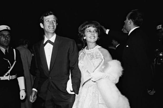 Jean-Paul Belmondo et Jeanne Moreau en 1960