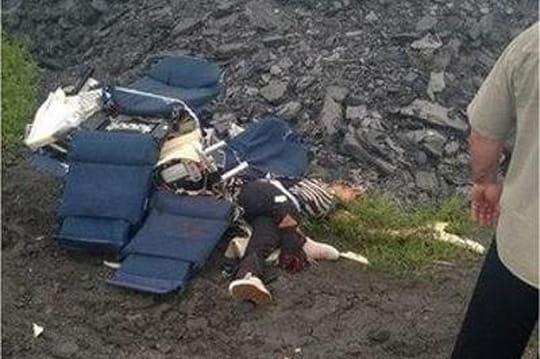 Crash du MH17: les images venues d'Ukraine [PHOTO - VIDEO]