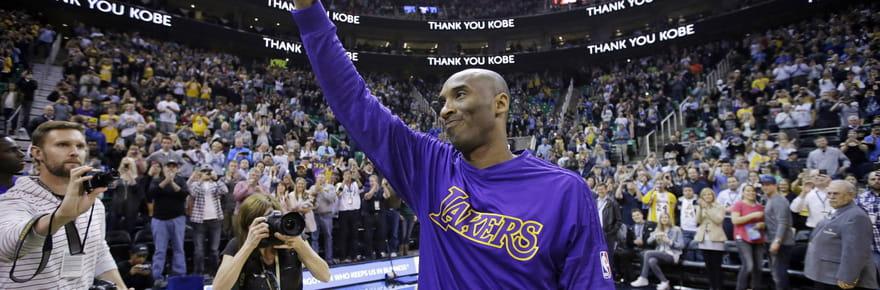 Records, gloires et frasques... La vie de Kobe Bryant en images