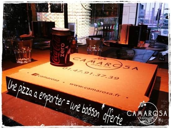 Camarosa Original Pizza  - 1 Pizza A Emporter = 1 Boisson Offerte - CAMAROSA Original Pizza -   © CAMAROSA Original Pizza