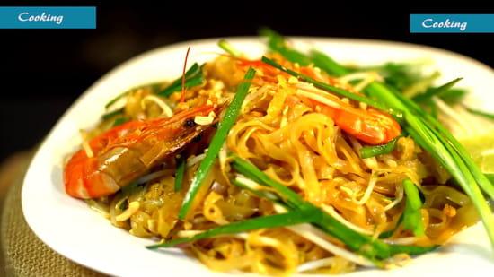 Plat : Viet d'Azur  - Pâte Thai -   © Original