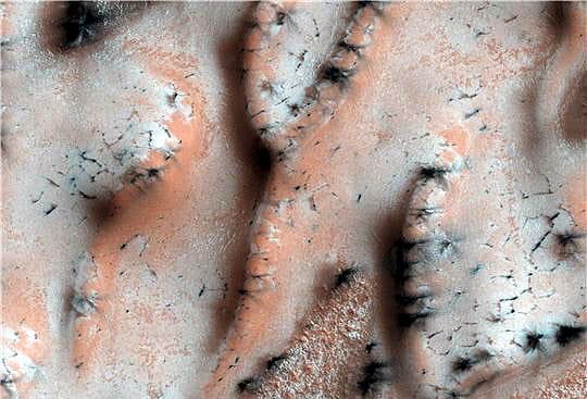 CO2 sur Mars