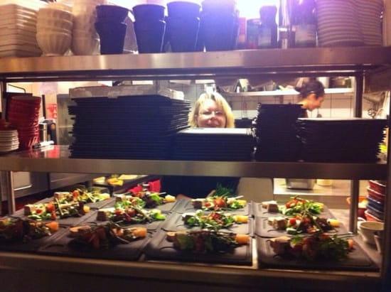 Restaurant : Les Petites Casseroles  - Un petit tour en cuisine...... -