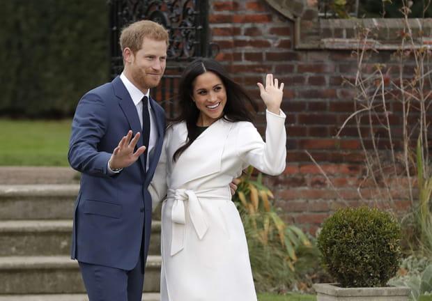 Les photos de fiançailles du Prince Harry et Meghan Markle
