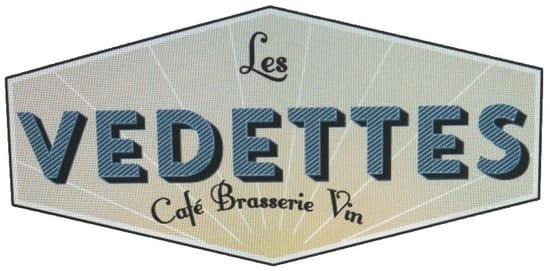Café les Vedettes  - Le logo Les vedettes Pigalle -