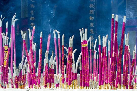 Ambiance encensée au Sichuan