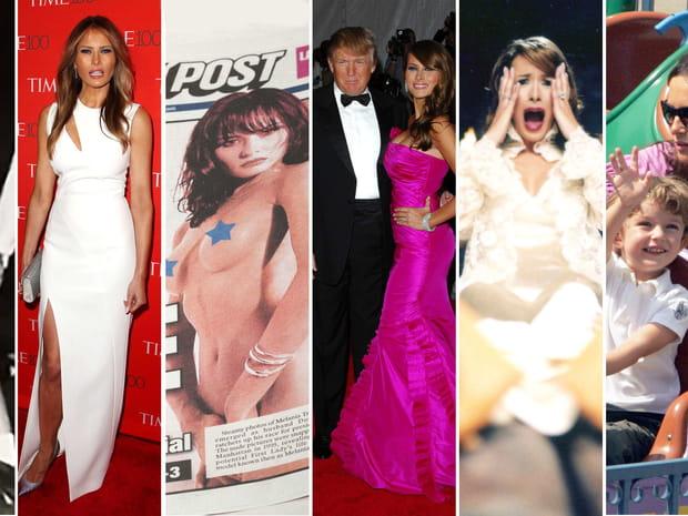 Melania Trump, la mannequin devenue First Lady des Etats-Unis
