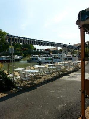 Chez L'Eclusier  - Terrasse côté port Restaurant Chez l'Eclusier -   © Assistek