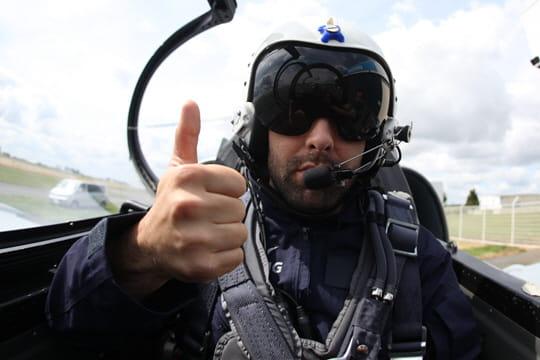 Testé pour vous, un vol en avion de chasse