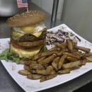 Chez Megane & Bastien  - Américan burger !! Pour les audacieux !! -