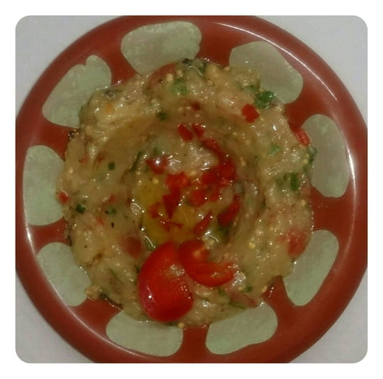 Ehden  - salade d'aubergine -