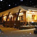 Restaurant : Le Chalet Chamrousse  - Hiver, vue extérieure. -