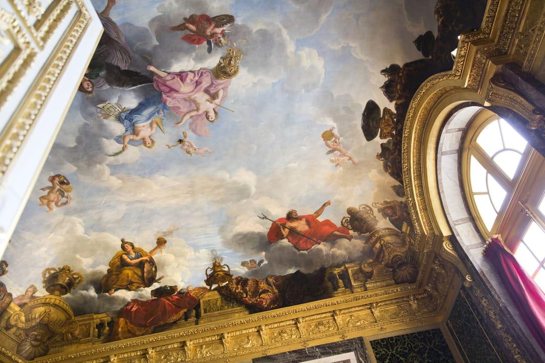 Plafonds Du Chteau De Versailles