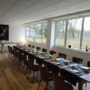 Restaurant : Domaine du Lac - Racines  - Salle -   © David Lachavannes