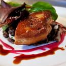 Entrée : Le Grand Bé  - Foie gras -   © Antoine Chaumet