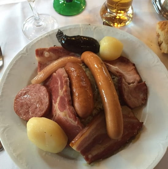 Plat : Maison Kammerzell  - Choucroute  -