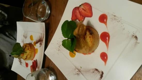 Dessert : L'entre potes  - Moelleux coco coeur fondant au bounty  -