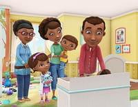 Docteur la peluche : l'hôpital des jouets : Un anniversaire rebondissant. - Un animal à l'hôpital