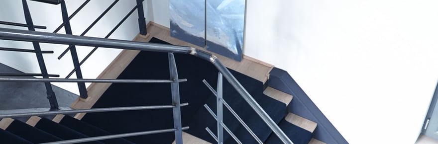 Comment redonner un coup de jeune à son escalier ?