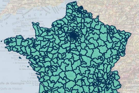 Circonscriptions: une carte pour savoir quelle est votre circonscription législative
