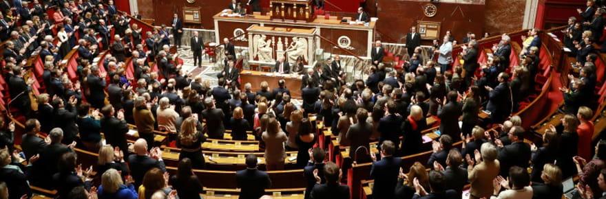 Députés et Assemblée visés: entrée symbolique unie des patrons des groupes politiques