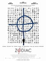 l'affiche du film zodiac, qui relate cette affaire. avec le symbole utilisé par