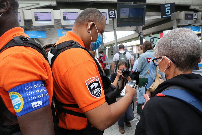 SNCFet pass sanitaire: contrôles renforcés, bientôt requis pour les 12-17ans