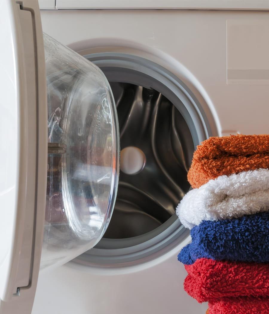 Un lave linge qui sent bon le propre - Lessive qui sent bon longtemps sur le linge ...