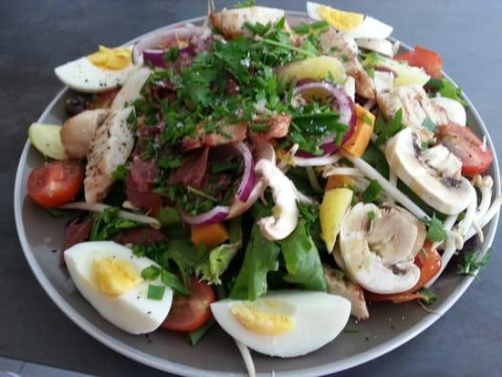 Entrée : Le Bistrot Gourmand  - Salade tiède de raie  -