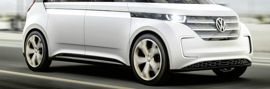 Volkswagen Budd-E : le Combi futuriste en images