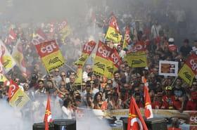 Manifestations: tensions à Paris, drôles de chiffres à Marseille
